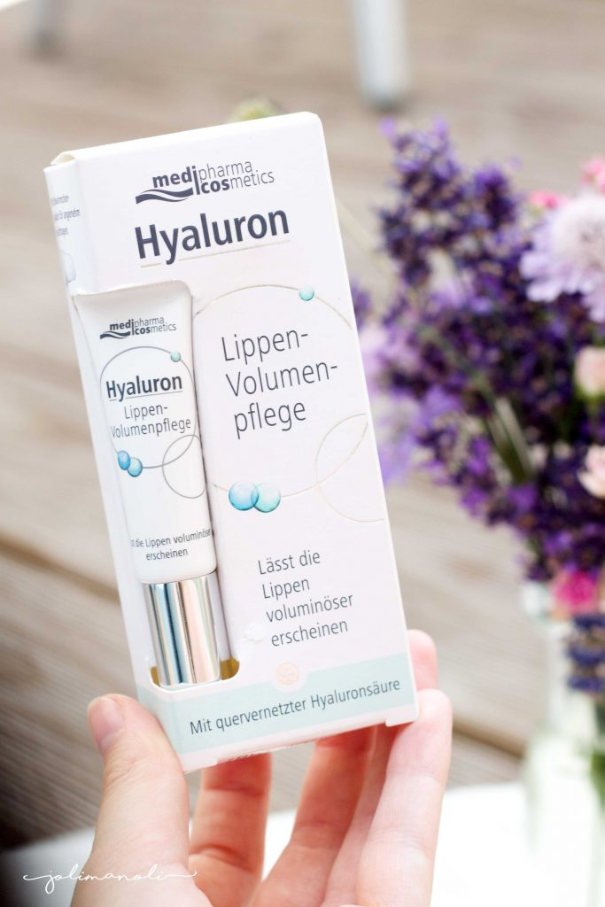 Medipharma Cosmetics Product Review Hyaluron Lippen VOlumen Pflege