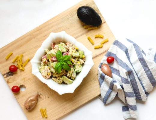 avocado_pasta_salad_quick lunch idea