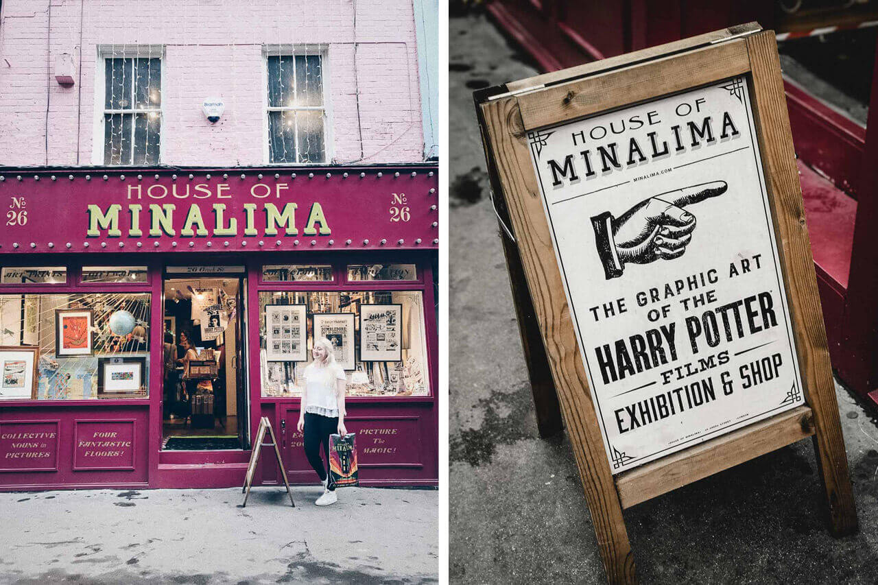 house of minalima London soho