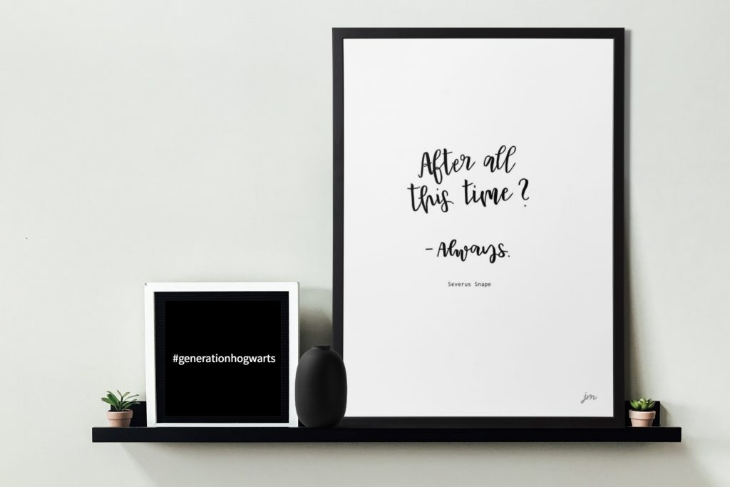 Harry Potter Quotes Free Printable: After all this time - Always Severus Snape
