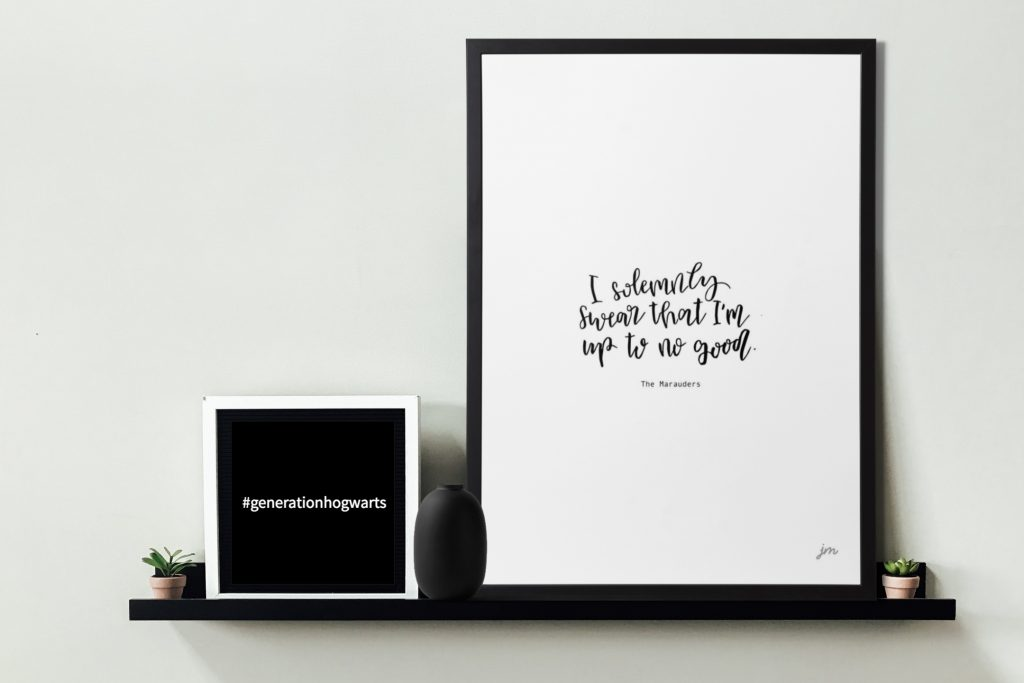 Harry Potter Quotes Free Printable: I solemnly swear that I'm up to no good